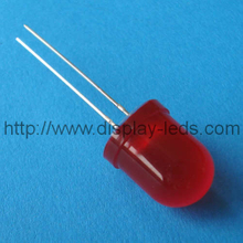 10 mm ronde rode LED-lamp