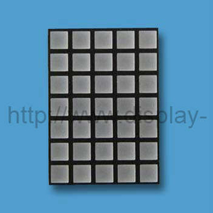 1,2 inch (29 mm) 5x7 vierkante punt matrix LED-display