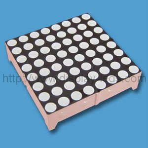 1,5 inch 8x8 tweekleurige led-dotmatrix